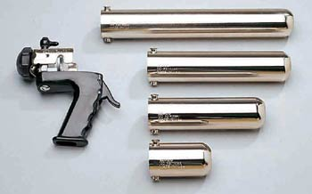 Pneumatic cartridge guns